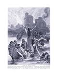"""After the """"Fair of Lincoln"""", 1920's Giclee Print by Richard Caton II Woodville"""