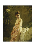 The Bather Giclee Print by Charles Chaplin