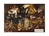 Hell Giclee Print by Hieronymus Bosch