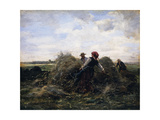 The Harvesters Giclee Print by Julien Dupre