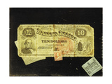 The Ten Dollar Bill Giclee Print by Nicolas Alden Brooks