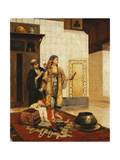 After the Bath Giclee Print by Rudolphe Ernst