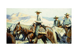 Tall in the Saddle Giclee Print by William Henry Dethlef Koerner