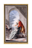 John Wilkes and Miss Gertrude Carmontelle Giclee Print by  Carmontelle
