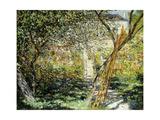 A Garden in Vetheuil; Le Jardin De Vetheuil, 1881 Giclee Print by Claude Monet