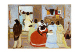 The Brothers; El Hermano Giclee Print by Pedro Figari