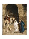 A Dispute Among Arabs; Dispute D'Arabes, 1872 Giclée-tryk af Jean Leon Gerome