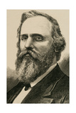 Rutherford B. Hayes (1822-1893). Engraving Giclee Print