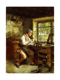 The Frame Maker Giclee Print by Walter Gay