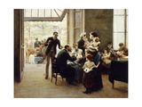 Homage to Louis Pasteur; Hommage a Louis Pasteur Giclee Print by Jules Scalbert
