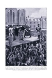 Edward I Addressing His Subjects in the New Palace Yard Ad1297, 1920's Giclee Print by Charles Daniel Ward