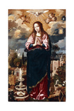The Immaculate Conception Giclee Print by Juan de Roelas