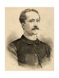 Manuel Catalina Rodriguez (1820-1886). Engraving Giclee Print by Arturo Carretero y Sánchez