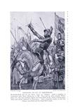 Hotspurs Death at Shrewsbury, 1920's Giclee Print by Richard Caton II Woodville