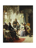 The Marriage Instructions, 1878 Giclee Print by Peter Baumgartner