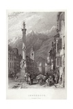 Principal Street in Innsbruck Giclee Print by C. Stanfield
