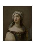 Saint Cecilia in Ecstasy Giclee Print by Giovanni Andrea Sirani
