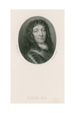 King Louis Xiv Giclee Print by Jean the Elder Petitot