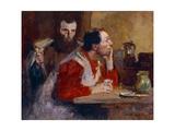 In a Tavern Giclee Print by Julius Gari Melchers