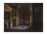 The Interior of a Church, C.1640-45 Giclee Print by Anthonie Delorme