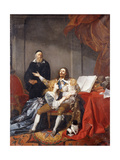 King Charles I Taking Leave of His Family before His Execution Giclee Print by Alexandre Evariste Fragonard