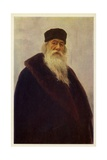 Vladimir Stasov, Russian Music and Art Critic Giclee Print by Ilya Efimovich Repin