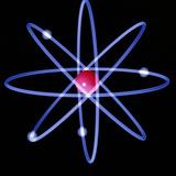 Computer Artwork of a Beryllium Atom Fotografisk tryk af Laguna Design
