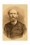 Jose Maria Casado Del Alisal (1832-1886). Engraving Giclee Print by Arturo Carretero y Sánchez