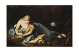 Saint Mary Magdalen Giclée-tryk af Anton Graff