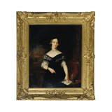 Portrait of the Young Queen Victoria Giclee Print