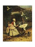 Peaceful Slumber Giclee Print by Edouard Toudouze