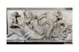 Altar of Domitius. Detail. Ca. 150 BC Giclee Print