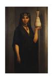 Peasent Woman; Femme Fellah, 1869 Giclee Print by Charles Landelle