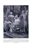 The Coronation of Edward II Ad1308, 1920's Giclee Print by Richard Caton II Woodville