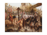 The Procession, 1893 Giclee Print by Edward Henry Corbould