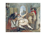 Falstaff, Bardolph and Dame Quickly, C.1845 Giclee Print by Francis Phillip Stephanoff