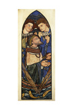 St. Peter Sinking in the Sea of Tiberias Giclee Print by Sir Edward Coley Burne-Jones