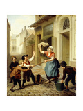 The Pranksters, 1866 Giclee Print by Basile De Loose