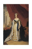 Portrait of Queen Victoria in Coronation Robes Giclee Print by Franz Xaver Winterhalter