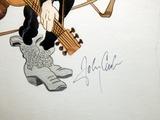 Autograph of Johnny Cash Photographic Print