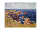 The Brittany Coast; La Cote Bretonne, C.1895 Giclee Print by Henry Moret
