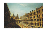 The Courtyard of the Doge's Palace, Venice Giclee Print by Michele Marieschi