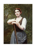Peasant Girl, 1889 Giclee Print by Daniel Ridgway Knight