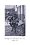 Saxons Entering Deserted London, 1920's Giclee Print by Amedee Forestier