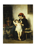 Bathtime Giclee Print by Rudolf Epp