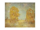 Sunlit Landscape Giclee Print by Emil Carlsen