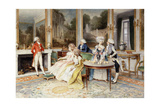 A Distinguished Guest Giclee Print by Lucio Rossi