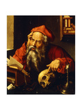 Saint Jerome Giclee Print by Joos Van Cleve