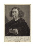 Portrait of Herman Saftleven the Younger Giclee Print by Herman the Younger Saftleven