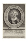 Portrait of Henrietta Van Pee Giclee Print by Jan Maurits Quinckhardt
